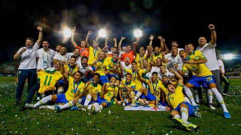 Lại ngược dòng thần kỳ, Brazil lần thứ 4 vô địch U17 World Cup