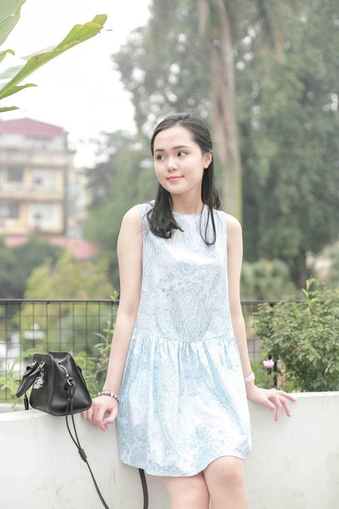 Nguyễn Quỳnh Anh - bạn gái trung vệ Đỗ Duy Mạnh