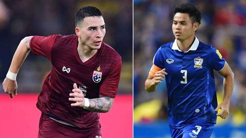 Danh sách ĐT Thái Lan đấu Việt Nam: Siêu hậu vệ trở lại, Tristan Do có mặt