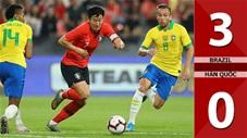 Brazil 3-0 Hàn Quốc(Giao hữu 2019)