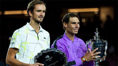 Daniil Medvedev thua Nadal ở chung kết US Open 2019