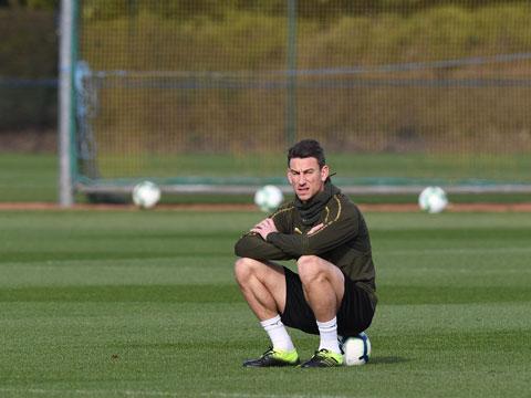 Koscielny đã trải qua một năm u uất trước khi rời Arsenal