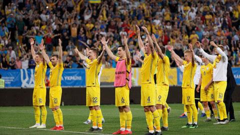 ĐT Ukraine đang thi đấu thăng hoa