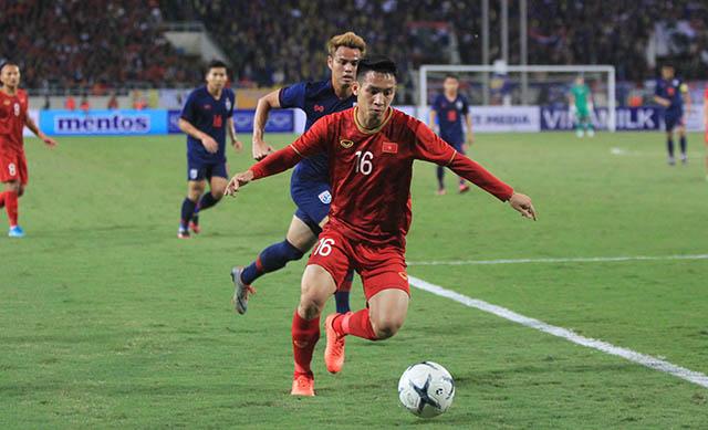 ĐT Việt Nam và Thái Lan cầm chân nhau sau trận hòa 0-0. Ảnh: Phan Tùng