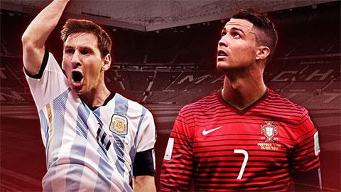Ronaldo bị fan Messi đá đểu