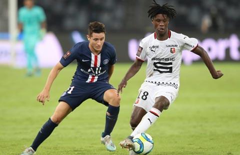 Camavinga đang là trụ cột quan trọng của Rennes