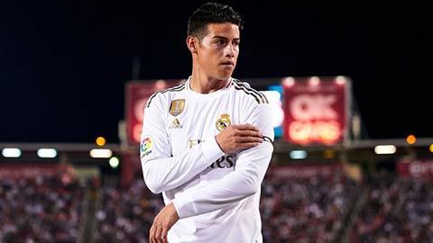 James Rodriguez nghỉ hết năm 2019