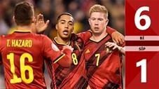 Bỉ 6-1 Síp(Vòng loaỊ Euro 2020)