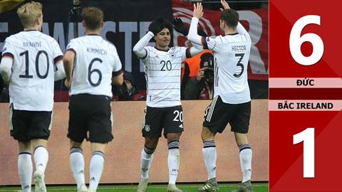 Đức 6-1 Bắc Ireland(Vòng loại Euro 2020)
