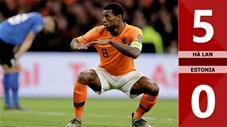 Hà Lan 5-0 Estonia(Vòng loại Euro 2020)