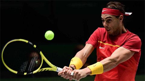 Nadal hạ Khachanov ở trận đầu Davis Cup 2019