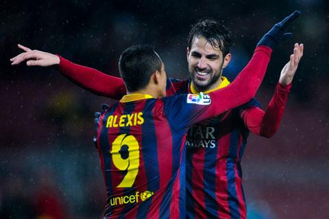 Sanchez và Fabregas không phải những bổ sung Barca của Pep cần