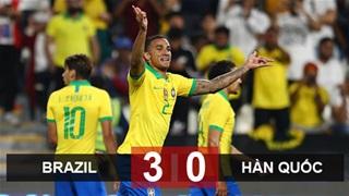 Vùi dập Hàn Quốc, Brazil dứt bệnh không biết thắng
