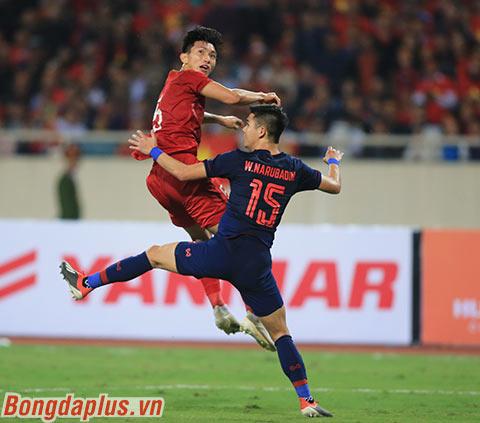 Đội tuyển Việt Nam vẫn cho thấy khả năng phòng ngự chắc chắn ở vòng loại World Cup 2022 - Ảnh: Đức Cường