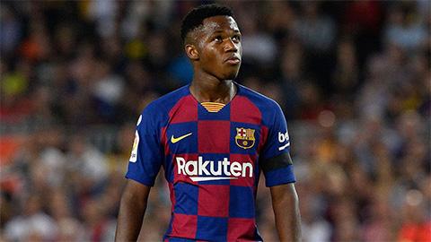 """""""Thần đồng"""" Ansu Fati sắp phải chia tay đội 1 Barca"""