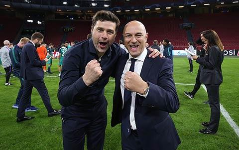 Chung kết Champions League từng là niềm vui tột độ với Pochettino và Levy