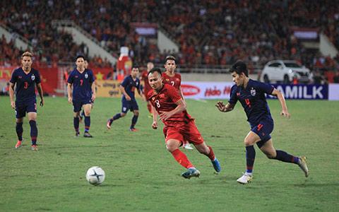 Trọng Hoàng sẽ phải ngôì ngoài trong trận đấu với Malaysia vào tháng 3/2020 - Ảnh: Phan Tùng