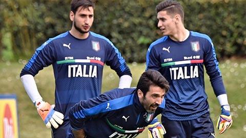 Vị trí thủ môn ở ĐT Italia: Meret và Donnarumma  chấm dứt thời kỳ của Buffon