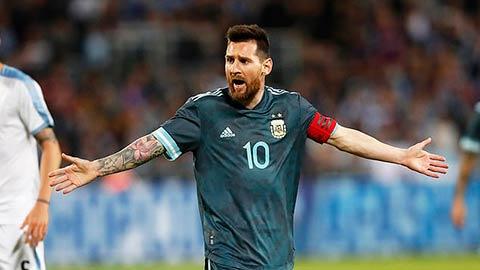 Messi không được Redknapp đánh gia cao bằng Ronaldo