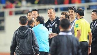Trợ lý Thái Lan không xin lỗi, phủ nhận xúc phạm HLV Park