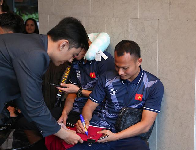 Trọng Hoàng là một trong 2 cầu thủ trên 22 tuổi được tăng cường cho U22 Việt Nam. Ảnh: Lê Đình