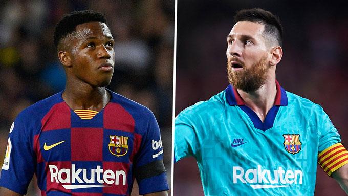 Ansu Fati được nhắm thay thế Messi nhưng đó là nhiệm vụ vô cùng khó khăn