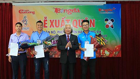 Báo Bóng Đá tổ chức Lễ xuất quân đoàn cán bộ, phóng viên đi tác nghiệp tại SEA Games 30