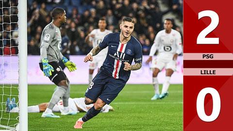 PSG 2-0 Lille(Vòng 14 Ligue 1 209/20)