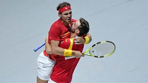 Nadal giúp Tây Ban Nha đoạt vé bán kết Davis Cup 2019