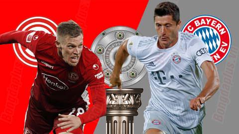 Duesseldorf vs Bayern Munich, 21h30 ngày 23/11: Mồi ngon cho Hùm
