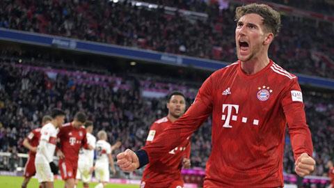 Bayern thăng hoa cùng Goretzka