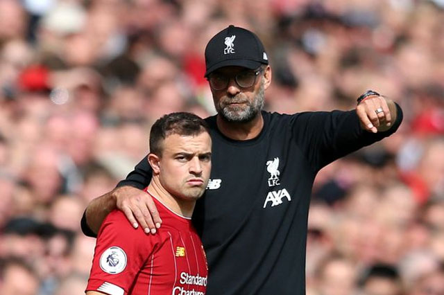 Shaqiri trở lại rất đúng thời điểm