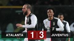 """Atalanta 1-3 Juventus: Higuain hóa """"siêu nhân"""" giúp Juve giành chiến thắng"""