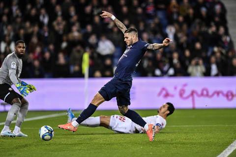 Icardi đã ghi được bàn thắng khá đơn giản