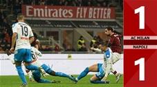 Milan 1-1 Napoli(Vòng 13 Serie A 2019/20)