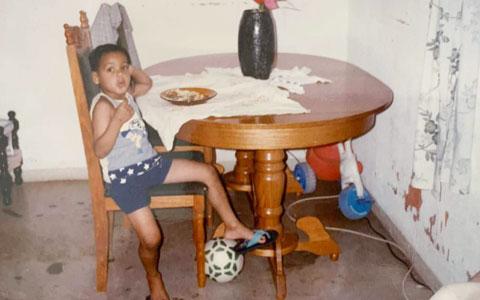 Hồi nhỏ, Fabinho quen thói lơ đễnh vô đối