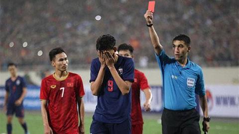 Thái Lan kháng án thành công cho cầu thủ đánh nguội Đình Trọng ở vòng loại U23 châu Á 2020