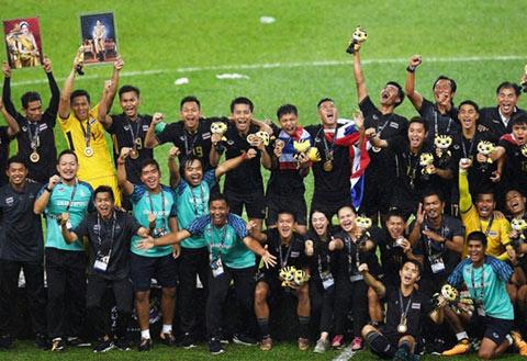 Thái Lan là đội thành công nhất trong lịch sử môn bóng đá nam của SEA Games