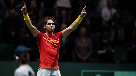 Nadal đóng vai người hùng giúp ĐT Tây Ban Nha vào chung kết Davis Cup