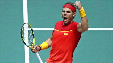 Nadal đưa Tây Ban Nha vô địch Davis Cup 2019