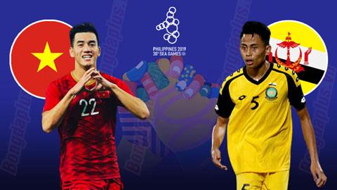 TRỰC TIẾP SEA Games| U22 Việt Nam vs U22 Brunei