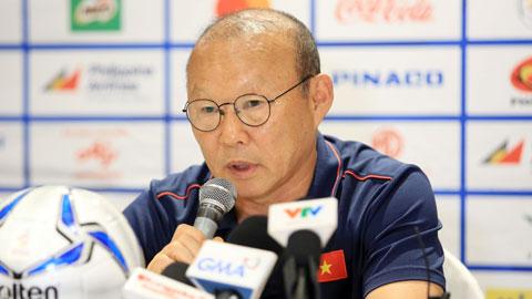 HLV Park Hang Seo: 'U22 Việt Nam sẽ tận dụng triệt để nguồn lực để đạt mục tiêu'