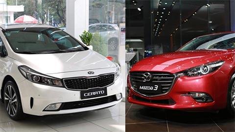 Mazda 3, Kia Cerato 2019, Hyundai Elantra đua nhau giảm giá dịp cuối năm