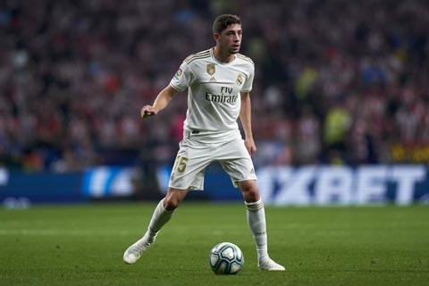 Valverde đang thi đấu ấn tượng tại Real