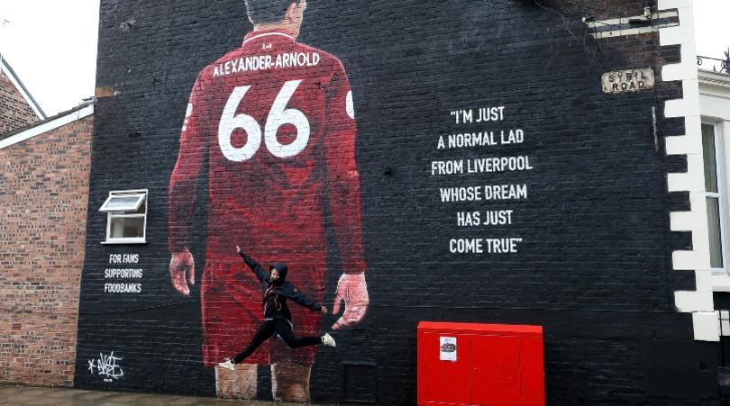 Trent đang trên đường trở thành một biểu tượng ở Anfield