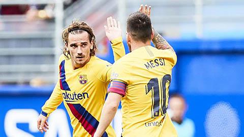 Griezmann tiết lộ 'bí mật' động trời về Suarez và Messi