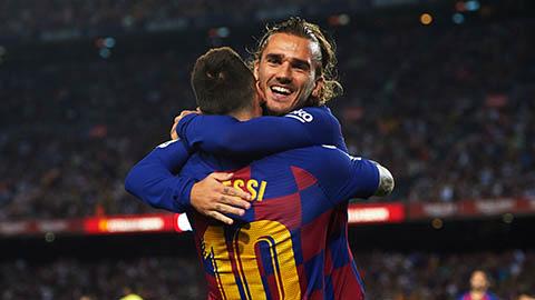 Mối quan hệ giữa Messi và Griezmann đã cải thiện?