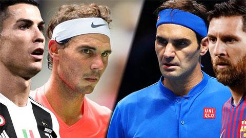 """Federer: """"Tôi và Nadal được so sánh như Messi-Ronaldo"""""""