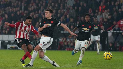 Web 388: Man Utd hòa Sheffield Utd: Trận đấu đâu chỉ diễn ra trong 7 phút
