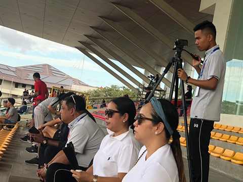 ĐT nữ Myanmar và Malaysia đã cử người đến xem giò ĐT nữ Việt Nam